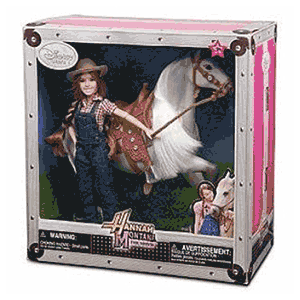 Hannah Montana doll and horse toy